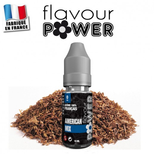 E-liquide Flavour Power tabac American mix