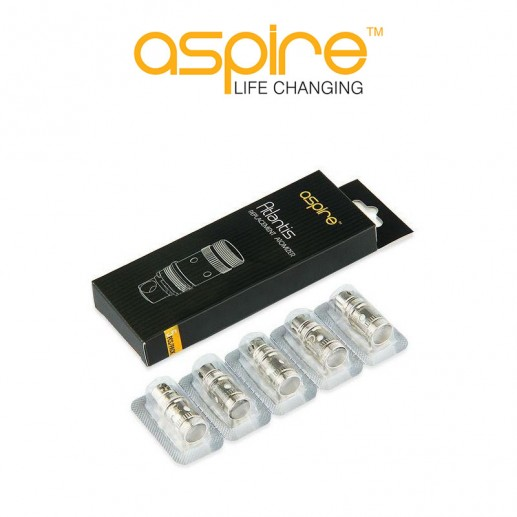 Résistances Aspire Atlantis V2 - Pack de 5