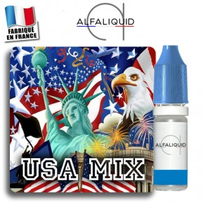 E-liquide Alfaliquid Classic USA Mix