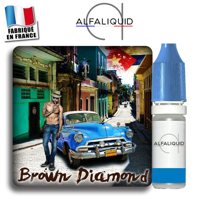 E-liquide Alfaliquid Classic Brown Diamond