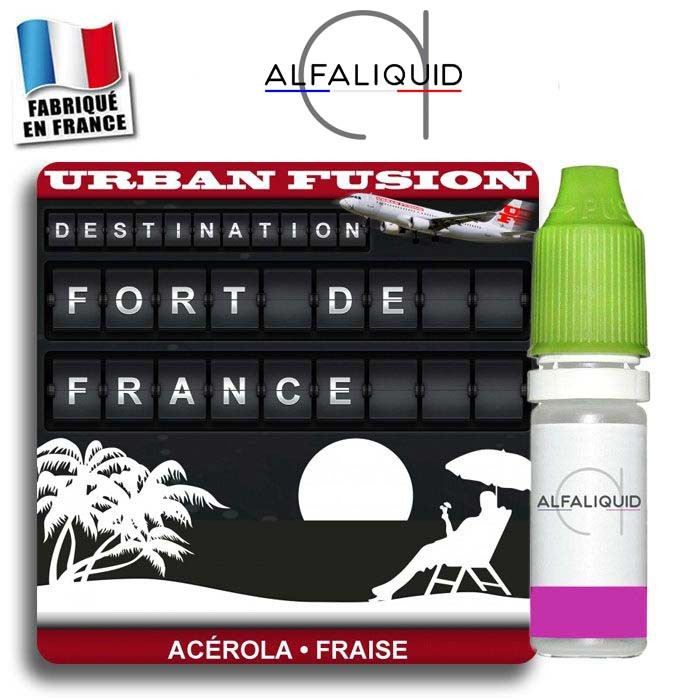 E-liquide Fort de France Alfaliquid