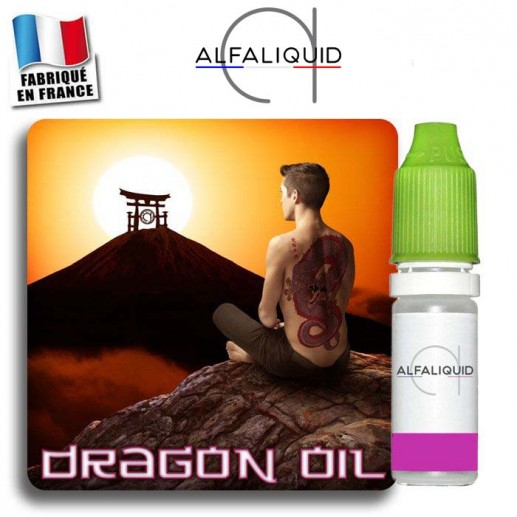 E-liquide Dragon Oil Alfaliquid