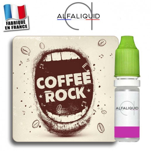 E-liquide Alfaliquid Coffee Rock
