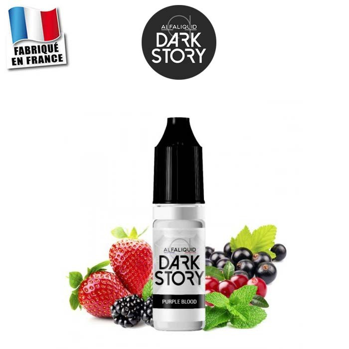 E-liquide Purple Blood Dark Story Alfaliquid