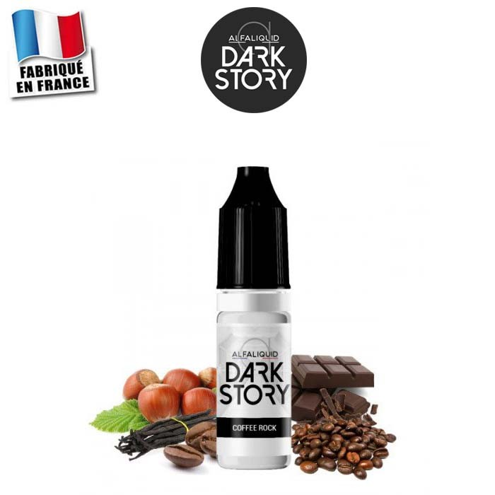 E-liquide Coffee Rock Dark Story Alfaliquid