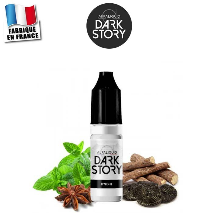 E-liquide D'Night Dark Story Alfaliquid