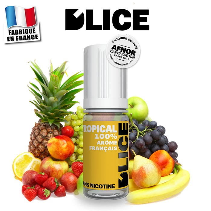 E-liquide D'lice tropical